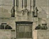 Wachtpost op entree Geb A