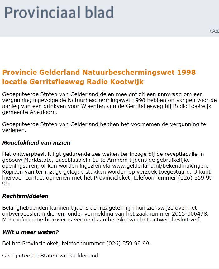 Nat. bescherm. wet 1998 wisents